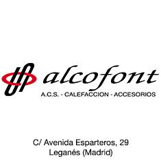 Alcofont
